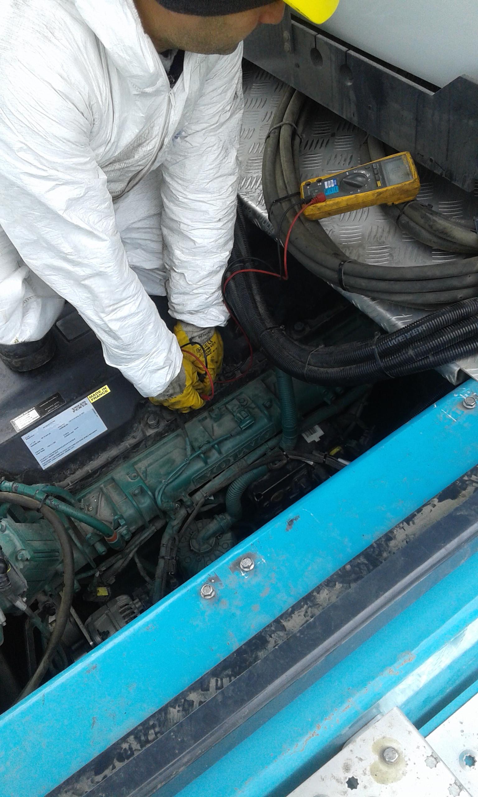 VOLVO D16C ENGINE REVISION