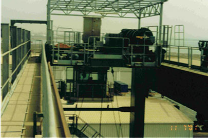 Offloading, completing punch list and and commissioning of N.5 RTG Cranes