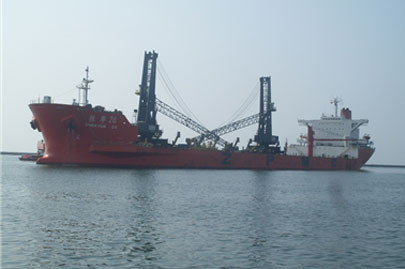 Offloading and commissioning of N.2 MHC