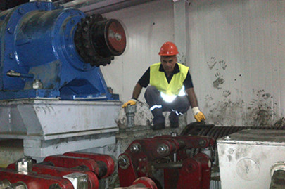 Repair of N.1 STS reducer